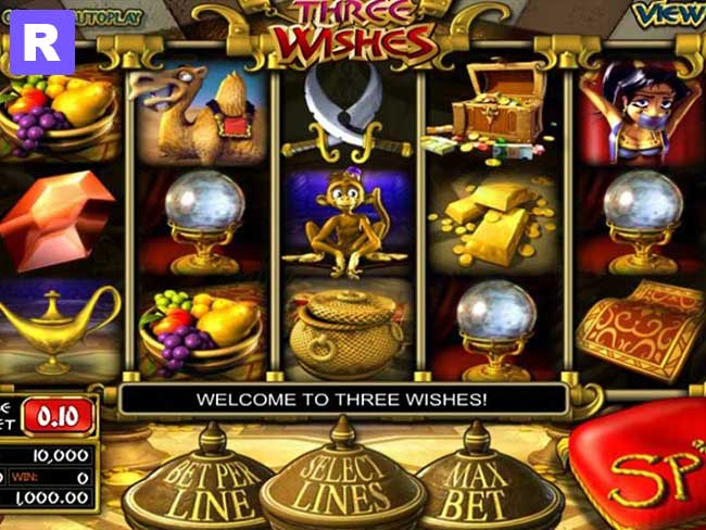 Three Wishes Slots